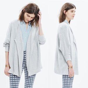 •Madewell• Seabank Cardigan Sweater Gray Oversized